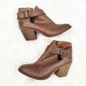 Blowfish leather ankle boots